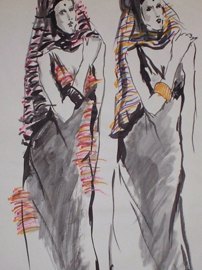 1970 fashion art